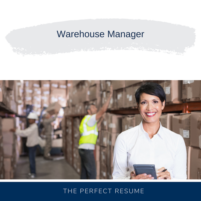 Warehouse Manager Resume Writing Services