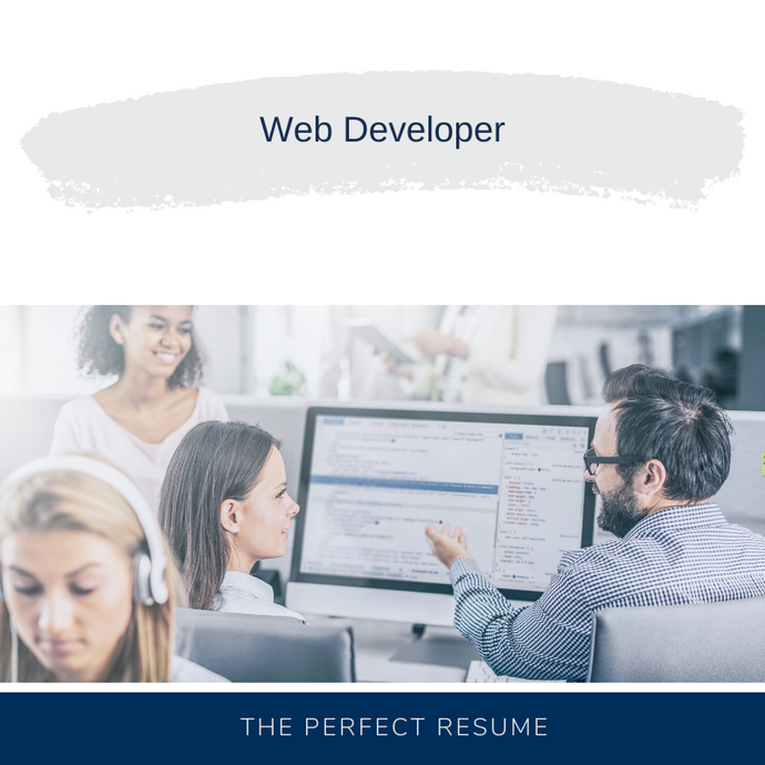 Web Developer Resume Writing Services