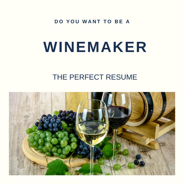 Winemaker Resume Writing Services