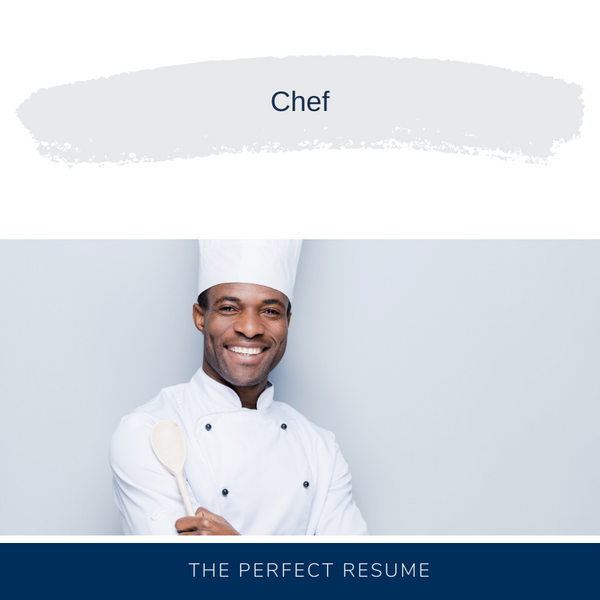 Chef Resume Writing Services