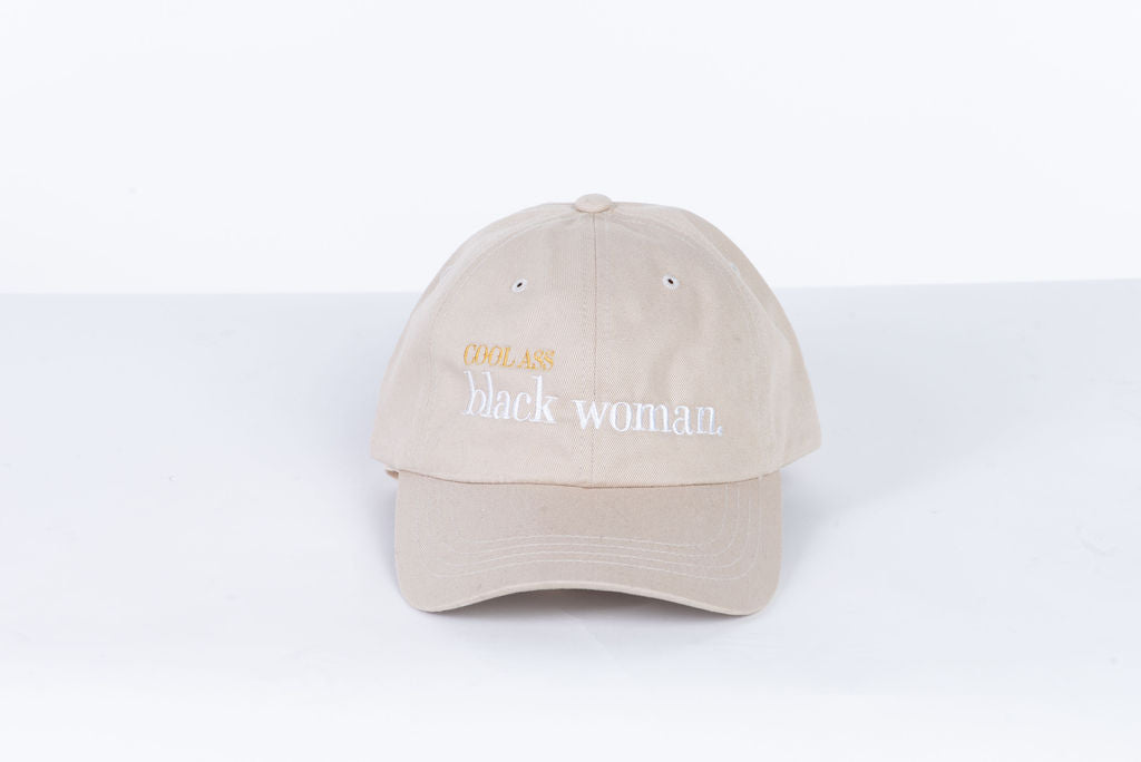 #CoolAssBlackWoman Hats | Stone (Tan)