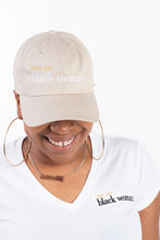 Load image into Gallery viewer, #CoolAssBlackWoman Hats | Stone (Tan)