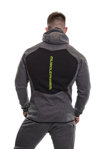 MusclePharm Athleisure Contrast Zip Up Hoody