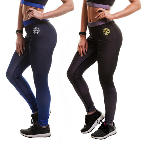 Gold's Gym Gradient Effect High Waist Leggings