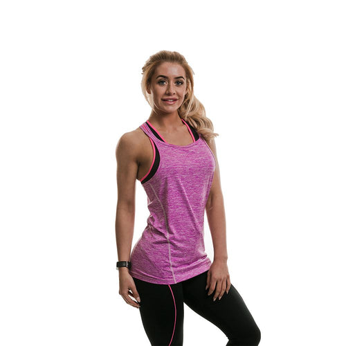 Gold's Gym Ladies Performance Marl Vest