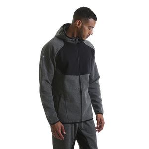 RIPT Contrast Zip Up Hooded Jacket