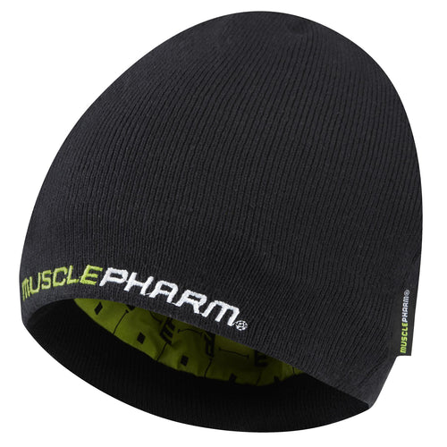 MusclePharm Knit Weak Ends Here Beanie
