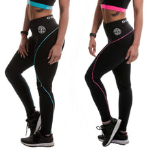 Load image into Gallery viewer, Gold's Gym High Waist Long Gym Leggings