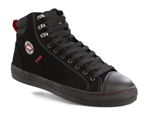 Lee Cooper Workwear Ladies Hi Top Baseball Safety Boots