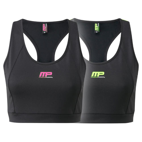 MusclePharm Logo Crop Top