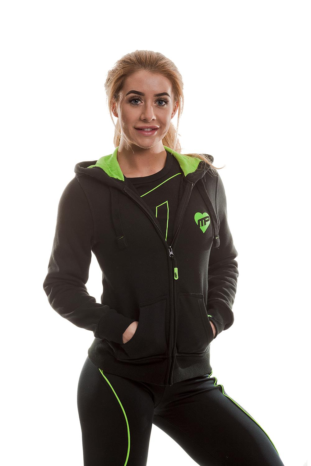 MusclePharm Zip Through Strong Is The New Sexy Hoodie
