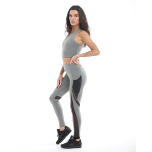 RIPT Racerback Performance Crop Top