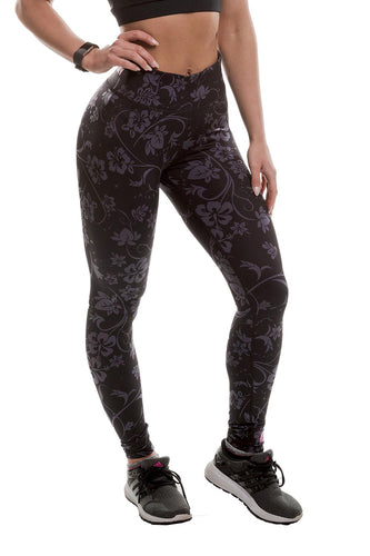 MusclePharm Floral High Waist Leggings