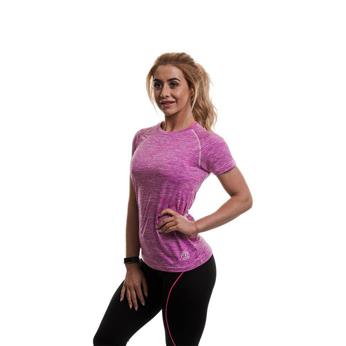 Gold's Gym Ladies Raglan Sleeve Performance Tee