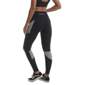 RIPT Performance Leggings with Contrast Mesh Panels