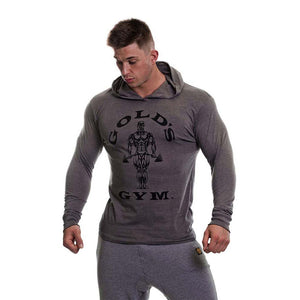 Gold's Gym Long Sleeve Hooded T-Shirt
