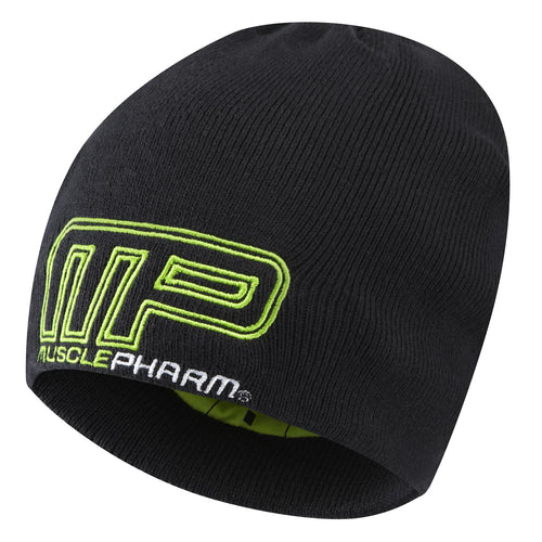 MusclePharm Knit Logo Outline Beanie