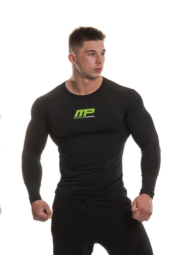 MusclePharm Long Sleeve Weak Ends Here Rashguard