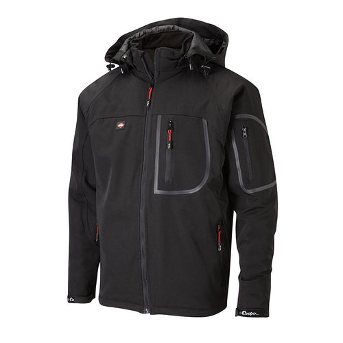 Lee Cooper Mens Waterproof Hooded Jacket