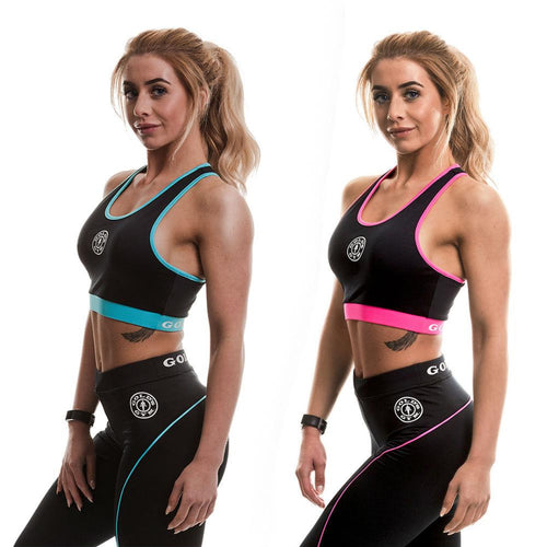 Gold's Gym Ladies Contrast Sports Crop Top