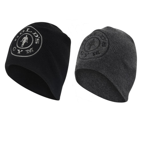 Gold's Gym Double Knit Beanie Hat