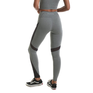RIPT Performance Contrast Mesh Leggings