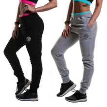 Load image into Gallery viewer, Gold's Gym Ladies Contrast Tapered Joggers