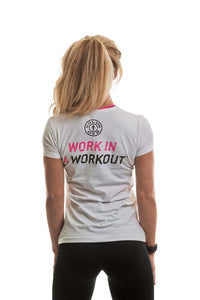 Gold's Gym Ladies Muscle Joe Premium Fitted T-Shirt