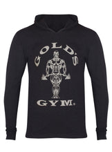 Load image into Gallery viewer, Gold's Gym Long Sleeve Hooded T-Shirt