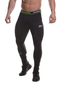 MusclePharm Compression Pant with Branded Waistband