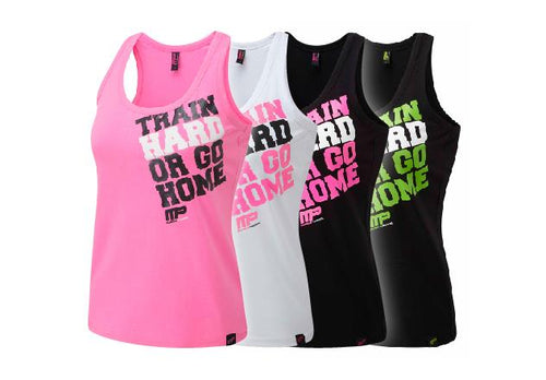 MusclePharm Train Hard Print Muscleback Vest