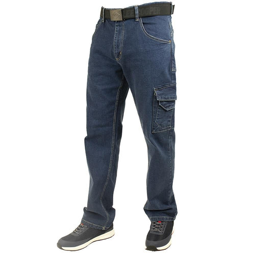 Lee Cooper Workwear Stretch Cargo Denim Jeans