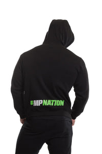 MusclePharm Zip Through Logo Hoodie