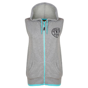 Gold's Gym Ladies Muscle Joe Sleeveless Hoodie