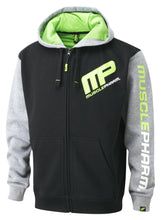 Load image into Gallery viewer, MusclePharm Zip Through Logo Hoodie