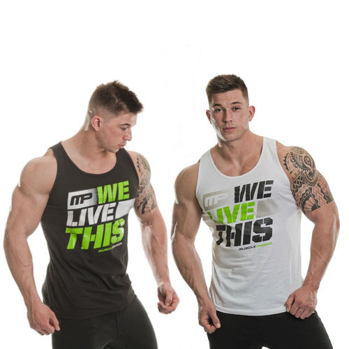MusclePharm We Live This Vest