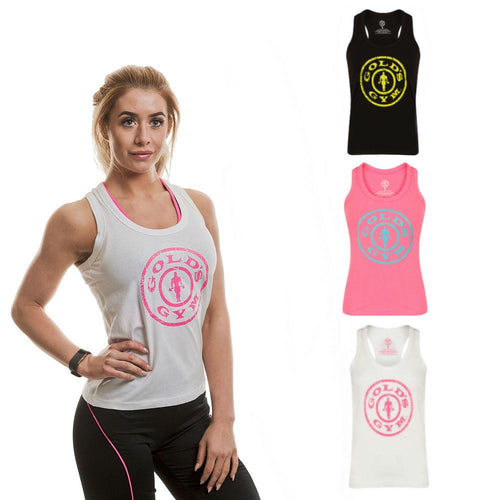 Gold's Gym Ladies Stronger Than Boys Muscleback Vest