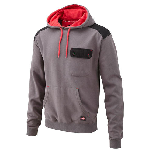Lee Cooper Workwear Panelled Work Hoodie