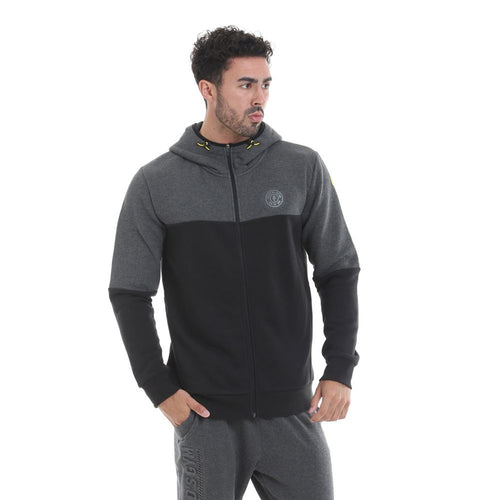Gold's Gym Contrast Zip Up Hoodie