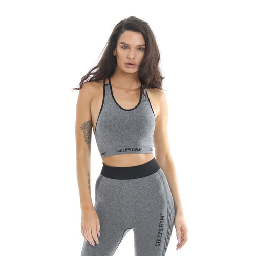 Gold's Gym Strappy Seamless Crop Top