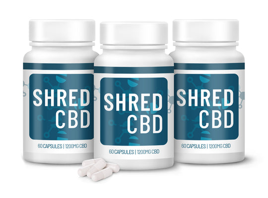 ShredCBD by PFX Labs - 3 Month Bundle Deal (Save 10%)