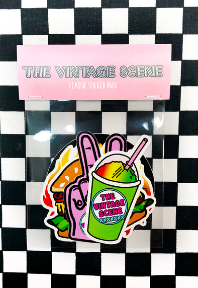The Vintage Scene Sticker Pack