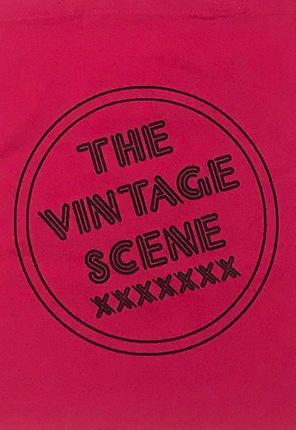 The Vintage Scene Hot Pink Classic Tote Bag