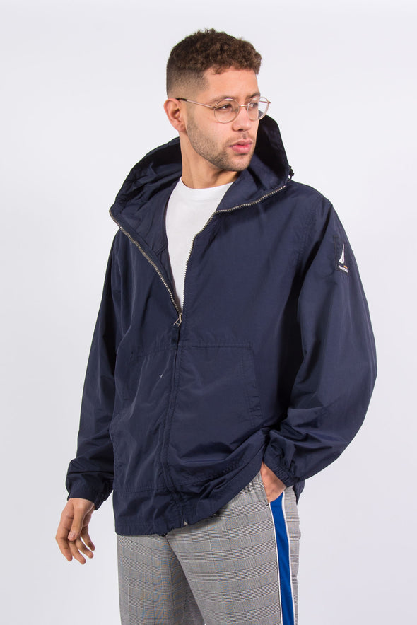 Nautica Hooded Windbreaker Jacket