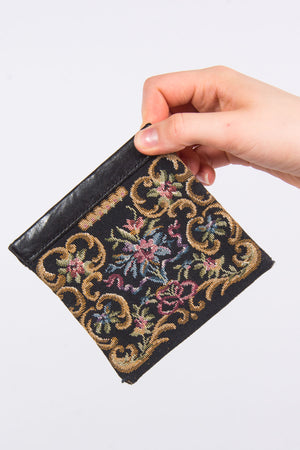 Vintage Tapestry Coin Purse