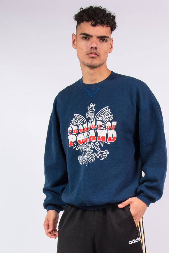 Vintage Russell Athletic Product of Poland crew neck sweatshirt