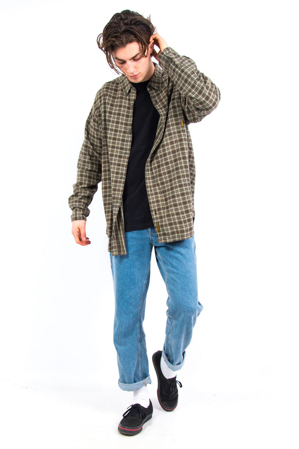 90's Vintage Timberland Checked Shirt