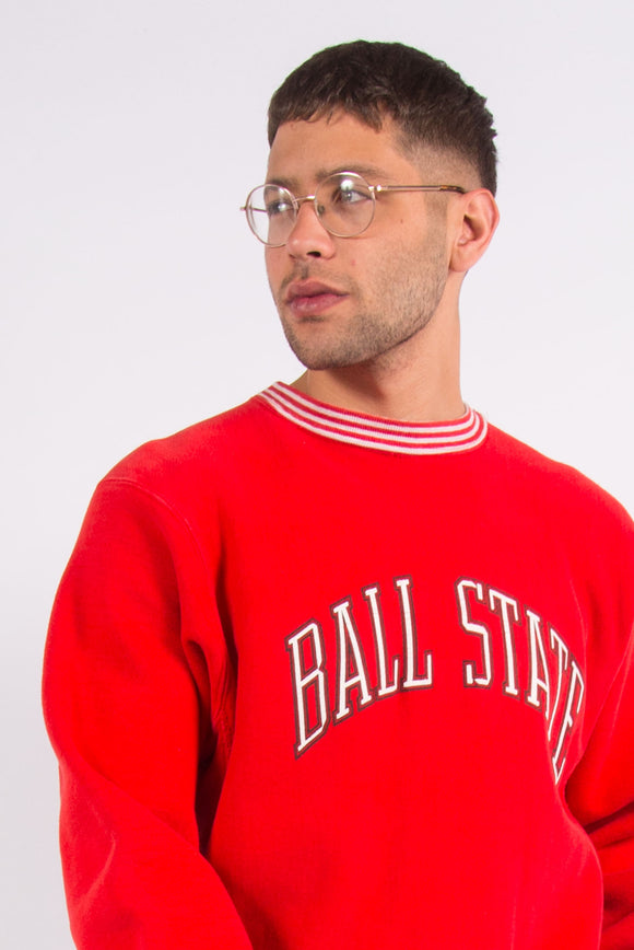 Vintage 90's USA Ball State college sweatshirt