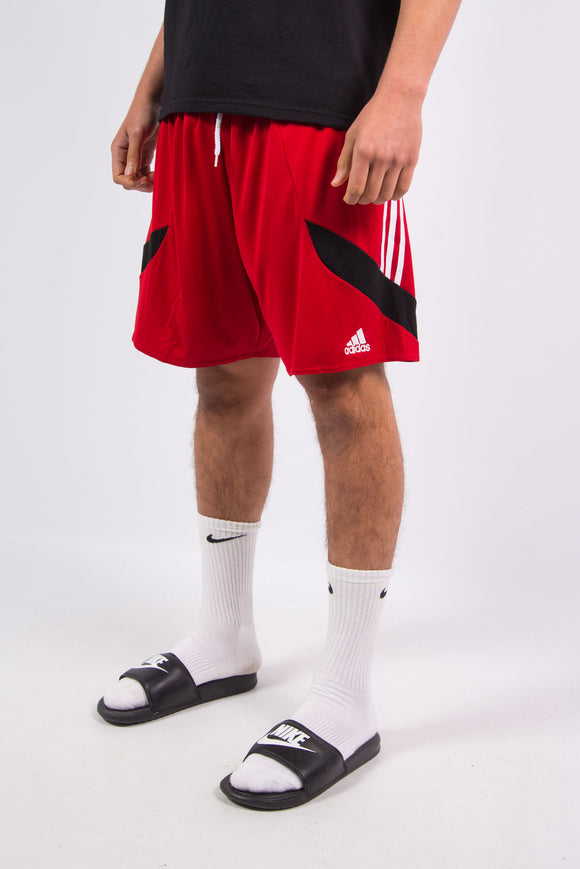 Adidas Red Sports Shorts