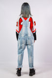 Vintage 90's Grunge Distressed Denim Dungarees